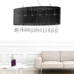 AZzardo Sidney 2 Black Eclipse - Pendant - AZZardo-lighting.co.uk