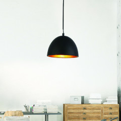 AZzardo Modena 18 Black/Gold - Pendant - AZZardo-lighting.co.uk