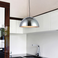 AZzardo Modena 40 Chrome - Pendant - AZZardo-lighting.co.uk