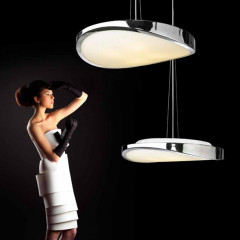 AZzardo Circulo 48 Chrome - Pendant - AZZardo-lighting.co.uk