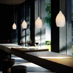 AZzardo Izza 1 White - Pendant - AZZardo-lighting.co.uk