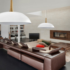 AZzardo Perugia White - Pendant - AZZardo-lighting.co.uk