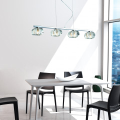AZzardo Rubic 4 - Pendant - AZZardo-lighting.co.uk