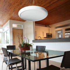 AZzardo Cementa White LED - Pendant - AZZardo-lighting.co.uk