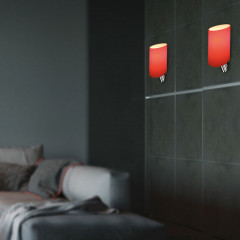 AZzardo Rosa Red - Wall lights - AZZardo-lighting.co.uk