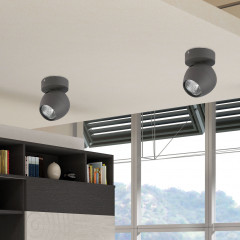 AZzardo Pera 1 Gray - Ceiling - AZZardo-lighting.co.uk