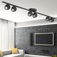AZzardo Pera 6 Gray - Ceiling - AZZardo-lighting.co.uk