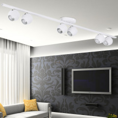 AZzardo Pera 6 White - Ceiling - AZZardo-lighting.co.uk