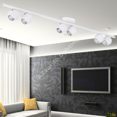 AZzardo Pera 6 White - Ceiling