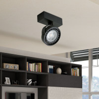 AZzardo Jerry 1 Black LED - Ceiling