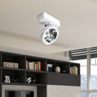 AZzardo Jerry 1 White 12V - Ceiling