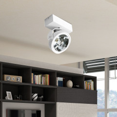 AZzardo Jerry 1 White 12V - Ceiling - AZZardo-lighting.co.uk