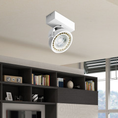 AZzardo Jerry 1 White LED - Ceiling - AZZardo-lighting.co.uk
