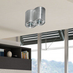 AZzardo Bross 2 ALU - Ceiling - AZZardo-lighting.co.uk