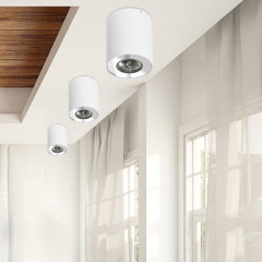 AZzardo Neos 1 White - Ceiling - AZZardo-lighting.co.uk
