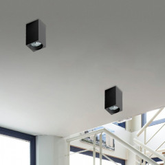 AZzardo Mini Square Black - Ceiling - AZZardo-lighting.co.uk