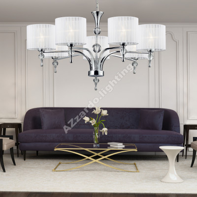 AZzardo Impress 7 White - Pendant