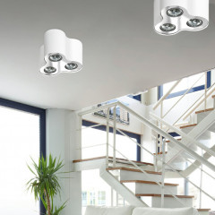 AZzardo Neos 3 White - Ceiling - AZZardo-lighting.co.uk