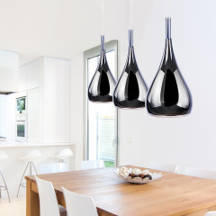 AZzardo Spell Black Chrome - Pendant - AZZardo-lighting.co.uk