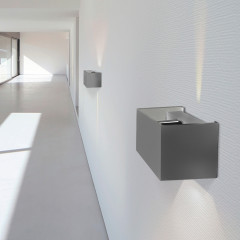 AZzardo Gambino Dark Gray LED - Wall lights - AZZardo-lighting.co.uk