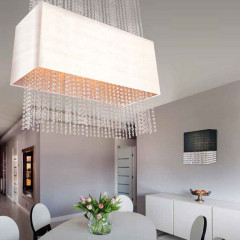AZzardo Glamour White - Pendant - AZZardo-lighting.co.uk