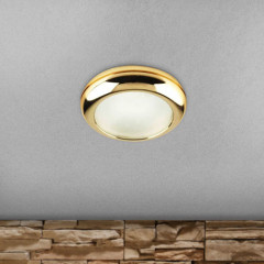 AZzardo Biagio Gold - Ceiling - AZZardo-lighting.co.uk