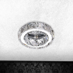 AZzardo Ester 1 Chrome - Ceiling - AZZardo-lighting.co.uk