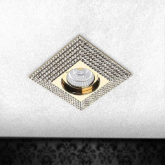 AZzardo Piramide XL Gold - Ceiling - AZZardo-lighting.co.uk