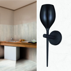 AZzardo Izza Wall Black - Wall lights - AZZardo-lighting.co.uk