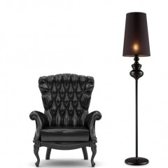 AZzardo Baroco Black Floor - Stand - AZZardo-lighting.co.uk