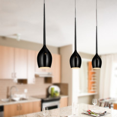 AZzardo Izza 1 Black - Pendant - AZZardo-lighting.co.uk