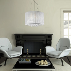 AZzardo Sidney White - Pendant - AZZardo-lighting.co.uk