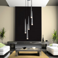 AZzardo Stylo 5 Chrome - Pendant