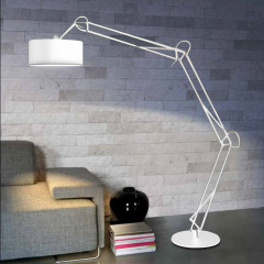 AZzardo Bosse Floor White - Stand - AZZardo-lighting.co.uk