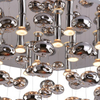 AZzardo Luvia 80 Chrome - Ceiling