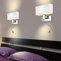 AZzardo Martens Wall LED White - Wall lights