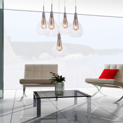 AZzardo Elektra 5 - Pendant - AZZardo-lighting.co.uk