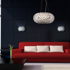AZzardo Acrylio V40 - Pendant - AZZardo-lighting.co.uk