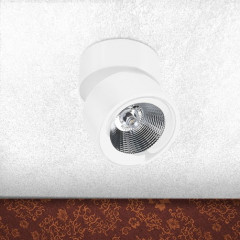 AZzardo Scorpio LED White - Ceiling