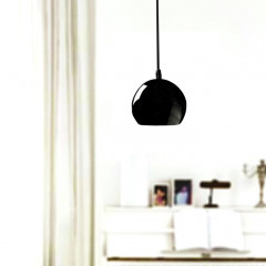 AZzardo Noa Black/Gold One - Pendant - AZZardo-lighting.co.uk
