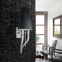 AZzardo Diablo Wall Black  - Wall lights - AZZardo-lighting.co.uk