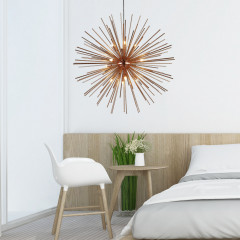 AZzardo Sirius 75 Body Copper - Pendant - AZZardo-lighting.co.uk