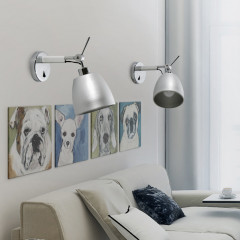 AZzardo Zyta ALU Wall XS - Wall lights - AZZardo-lighting.co.uk