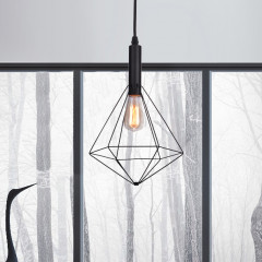 AZzardo Diamond Black - Pendant - AZZardo-lighting.co.uk