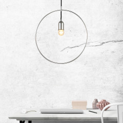 AZzardo Krug Chrome - Pendant - AZZardo-lighting.co.uk