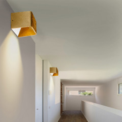 AZzardo Felix S Gold - Wall lights - AZZardo-lighting.co.uk