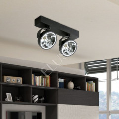 AZzardo Jerry 2 Black 230V - Ceiling - AZZardo-lighting.co.uk
