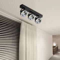 AZzardo Jerry 3 Black 230V - Technical surface mounted - AZZardo-lighting.co.uk