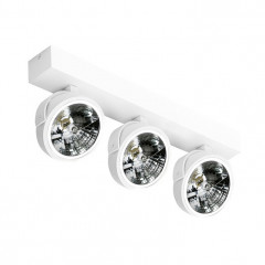 AZzardo Jerry 3 White 230V - Technical surface mounted - AZZardo-lighting.co.uk