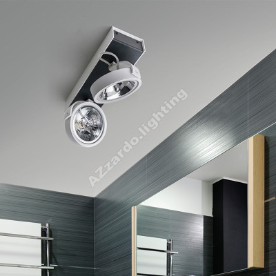 AZzardo Max 2 White/Black 230V - Ceiling